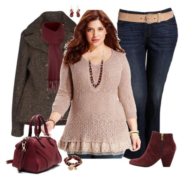 """Plus Size for Fall"" by elise1114 ❤ liked on Polyvore featuring Old Navy, Manila Grace, Linea, American Rag Cie, MINKPINK, Bee Charming and Dolce Vita"