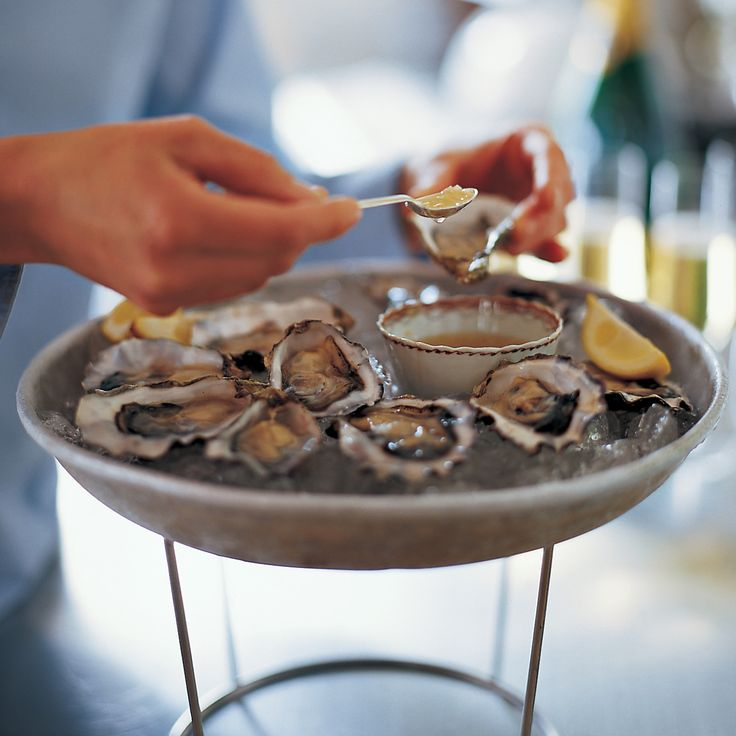 The addition of Champagne is not essential, but it is particularly delicious. If you are planning to serve some bubbly with your oysters, save a splash for this sauce.
