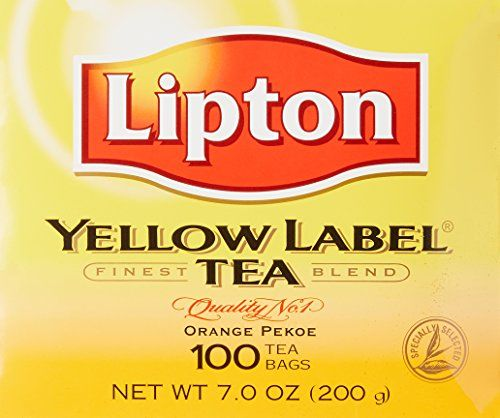 Lipton Yellow Label Tea Bags 100ct, 1 pack -- undefined