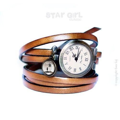 Star Girl Classic Kiwi - bransoletka zegarek