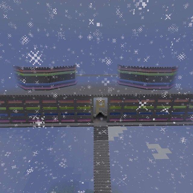 R͓̽a͓̽i͓̽n͓̽b͓̽o͓̽w͓̽ c͓̽a͓̽s͓̽t͓̽l͓̽e͓̽ i͓̽n͓̽ t͓̽h͓̽e͓̽ s͓̽k͓̽y͓̽ #rainbow #castle #floating #sky #minecraft #glass #stone #snow #mine #craft #pc #Mac #small