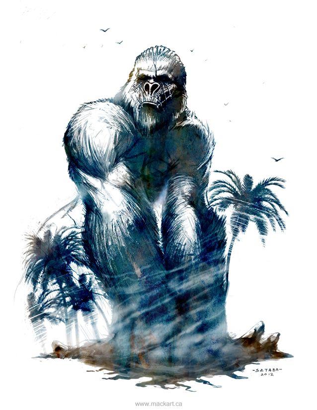 King Kong by MackSztaba