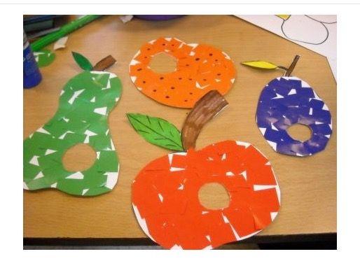 17 beste idee n over kinderen knutselen met fruit op for Gekleurd papier action