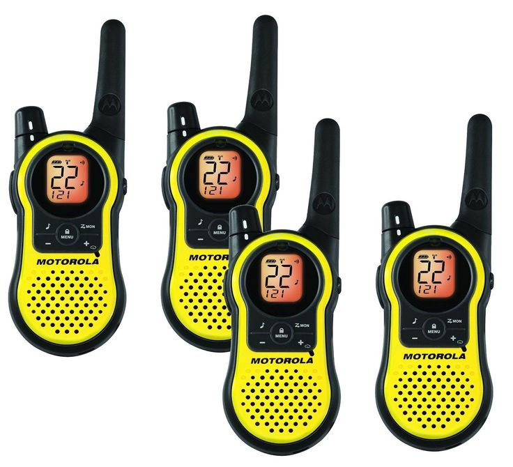 Motorola MH230R Rechargeable Two Way Radio 4 Pack -- Visit the image link more details.