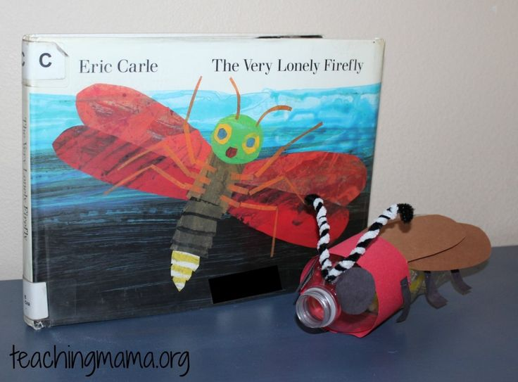 Teaching Mama: Glowing Firefly Craft-goes along with The Very Lonely Firefly by Eric Carle. Pinned by SOS Inc. Resources. Follow all our boards at pinterest.com/sostherapy/ for therapy resources.