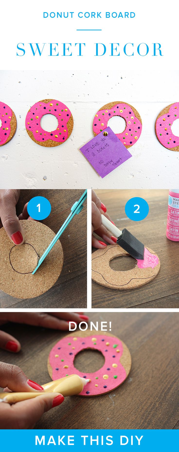 Go Do Nuts And Spruce Up Your Office Or Dorm Room Diy