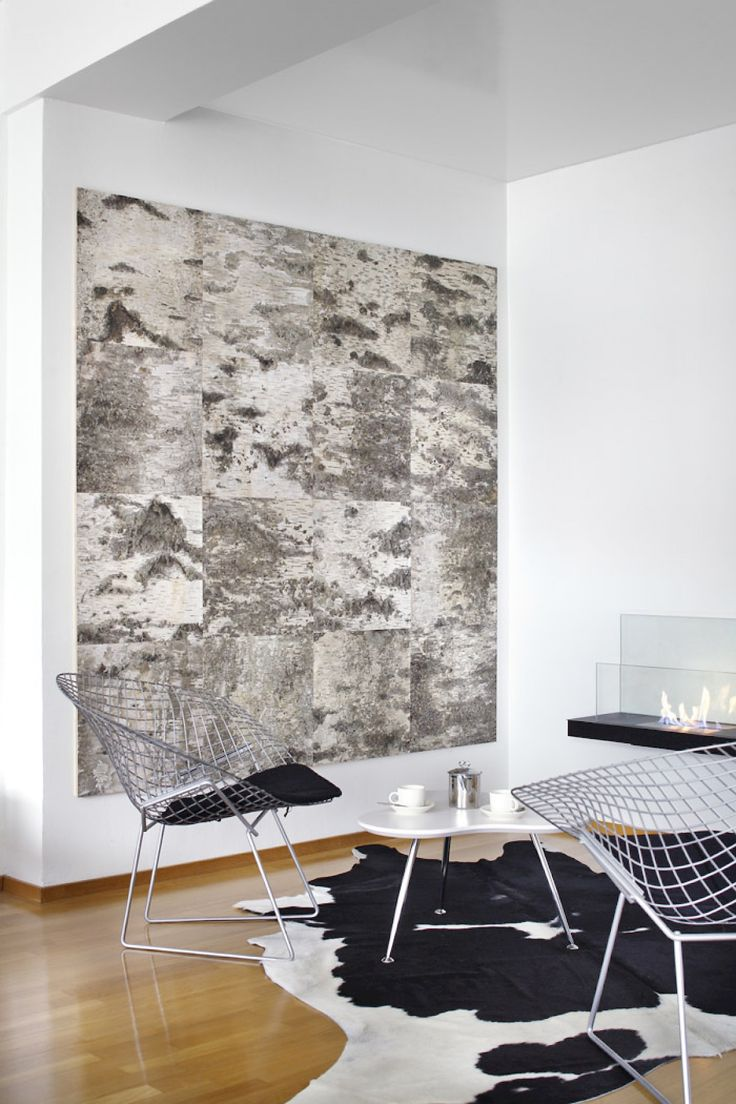 Tuohi wall elements (private home)