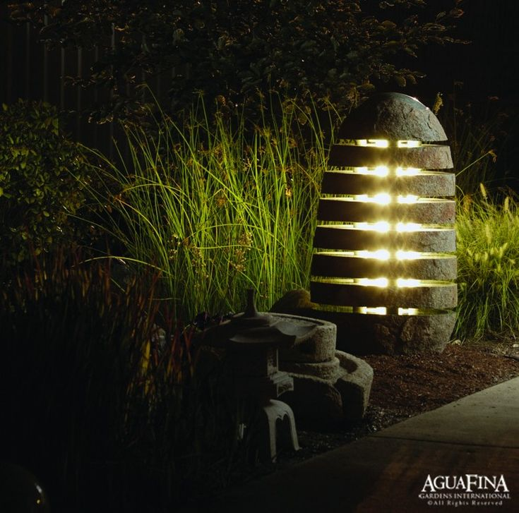 Outdoor Lighting Ideas And Options: Love This Lighting Option For Certain Types Of Gardens