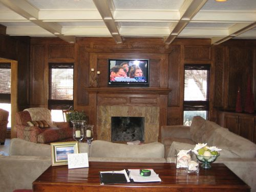 19 best images about before after wood paneling on Wood paneling transformation