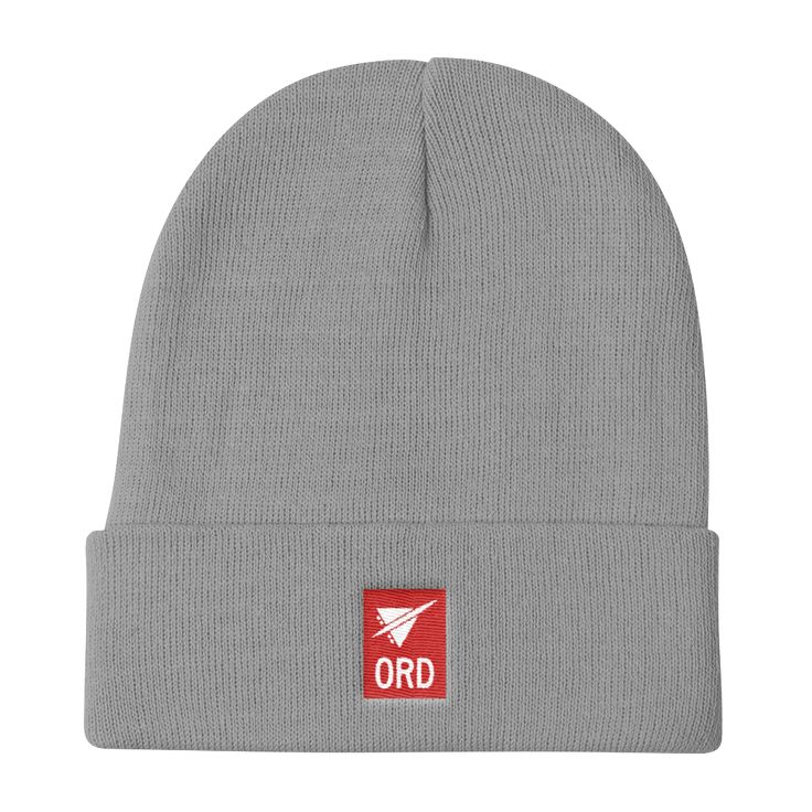 ORD Chicago (O'Hare) Airport Code Beanie