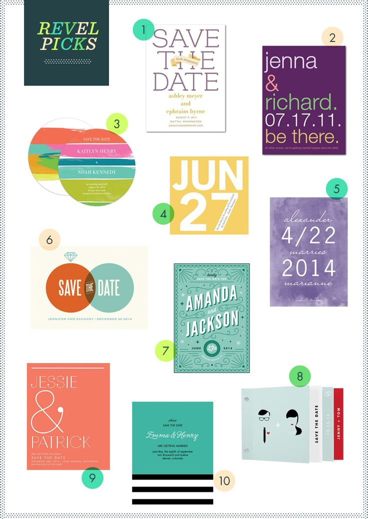 REVEL Picks: Save The Dates