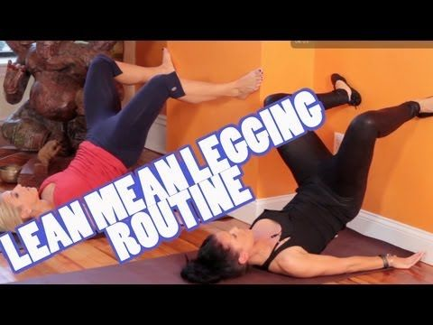 Lean Mean Legging Routine! Lift that booty for legging season. This 8-min workout is follow along style and will have your glutes burning by the end, I promise.
