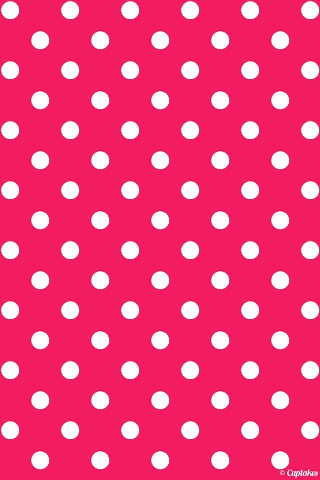Wallpaper Iphone 5 Vintage I Love Polka Dots Em 2019 Celulares Baratos E Papeis