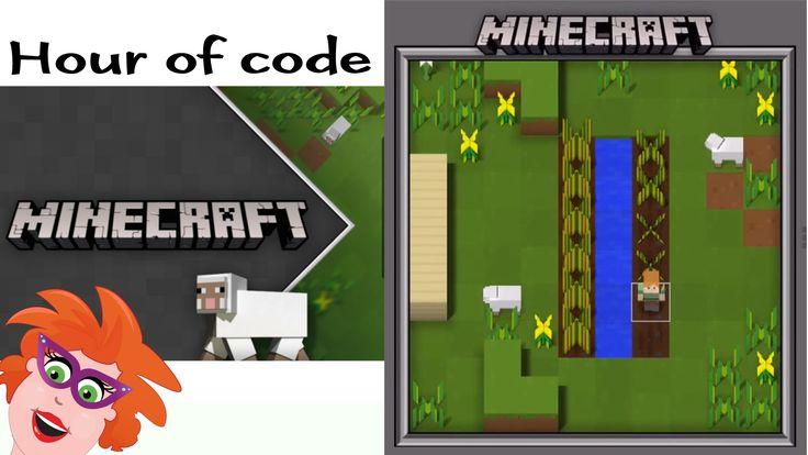 Hour of code Minecraft #1 Hoe werkt het?