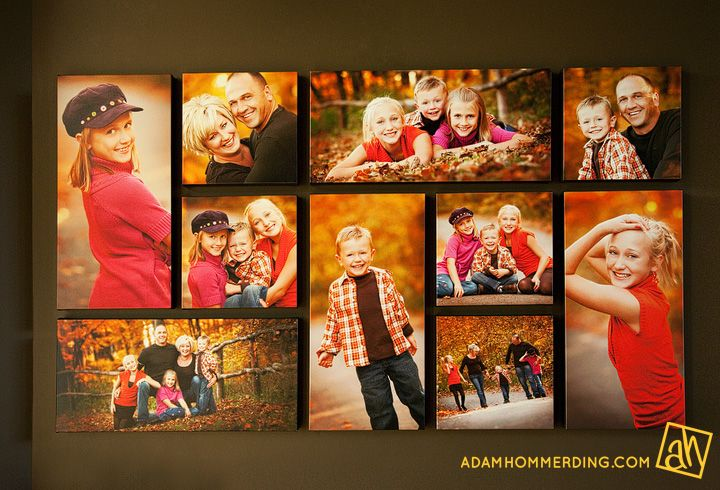 Canvas Picture Collage Layout | More Canvases ideas