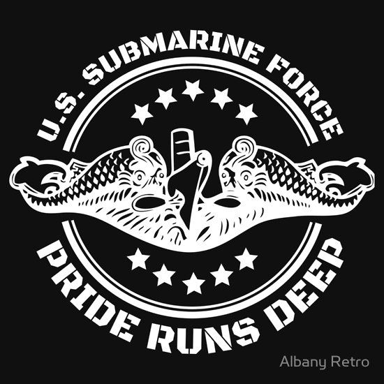 Submarine pride runs deep t-shirt