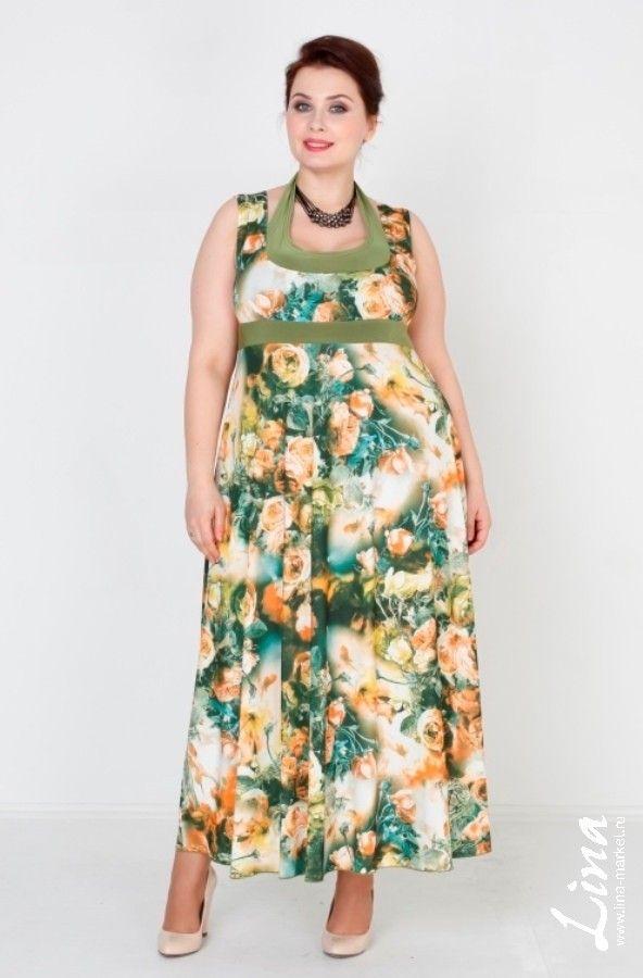 Сарафан Американка (зеленый) хороший выбор интернет магазин одежды больших размеров