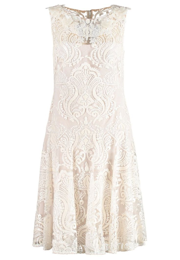 Marchesa Notte Cocktailkleid / festliches Kleid white | Stylaholic