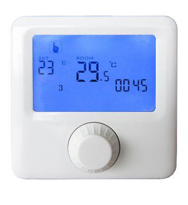 Baterai daya programmable termostat boiler dengan gas
