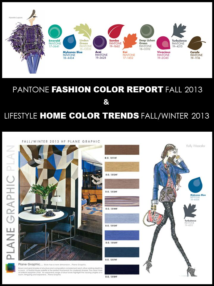 Interior Design Boards Color Trends Fall 2013 Pantone Colors Paint E