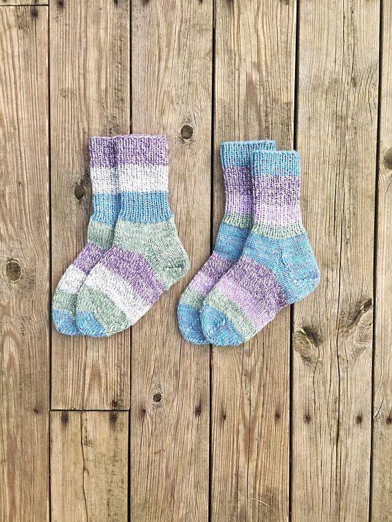 Knit Norwegian Socks Wool Handmade In Norway Knitted Wool