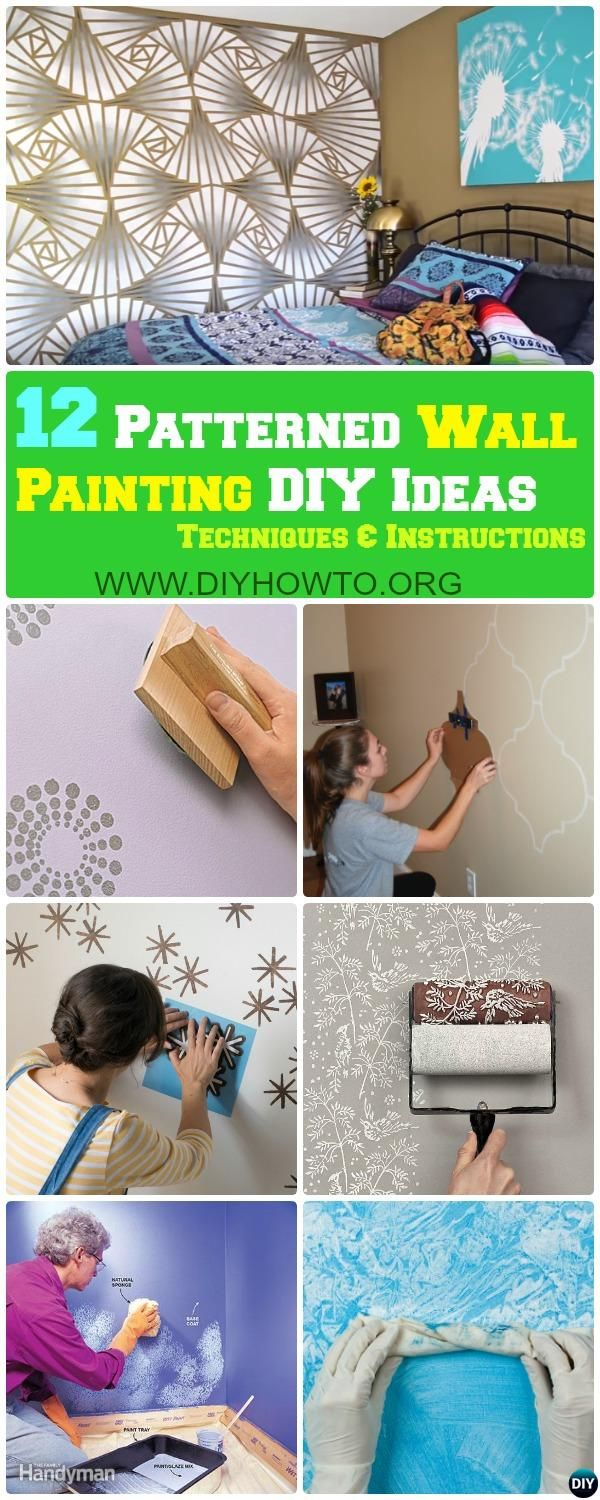 Best 25+ Wall paint patterns ideas on Pinterest   Wall painting ...
