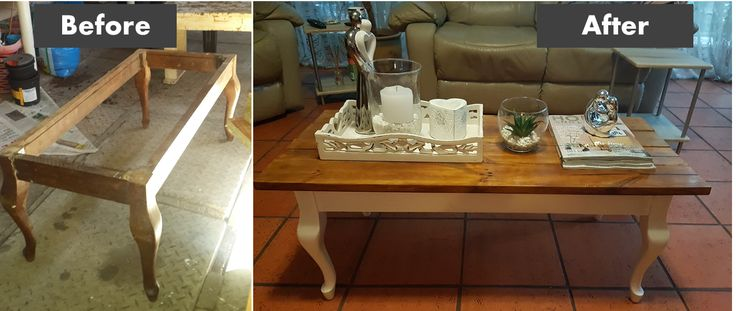 Queen Anne Coffee Table Make Over