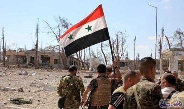 انفجارات في درعا ناجمة عن قصف القوات الحكومية السورية لبعض الأماكن