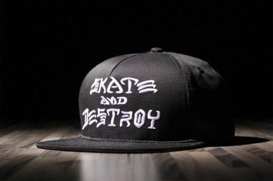 THRASHER Skate and Destroy cap 01 540x359 Thrasher Skate and Destroy Snapback