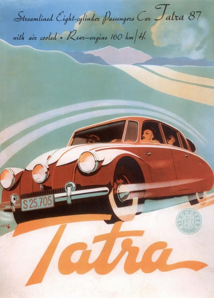 frenchcurious - Tatra Art 1935 -1955 - Atomic Samba.