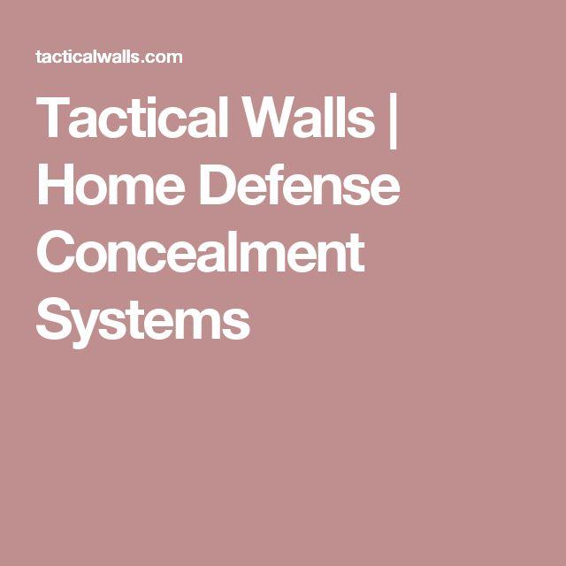 Tactical Walls   Home Defense Concealment Systems