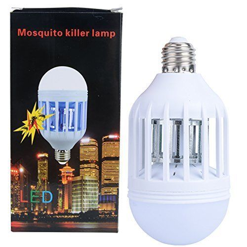 LED Insect Killer Light Electric Mosquito Zapper Bug Trap 110V Bulb Efficient #Fanme