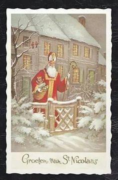 groeten van Sint Nicolaas
