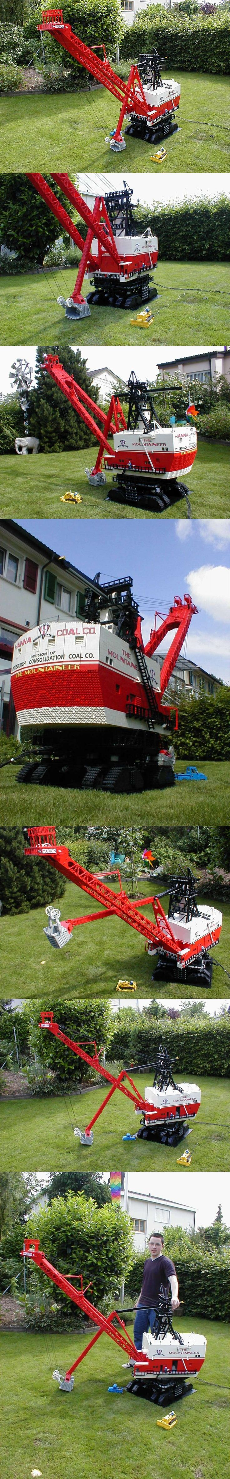 Be Prepared to be WOWED: Marion 5760 The Mountaineer #LEGO