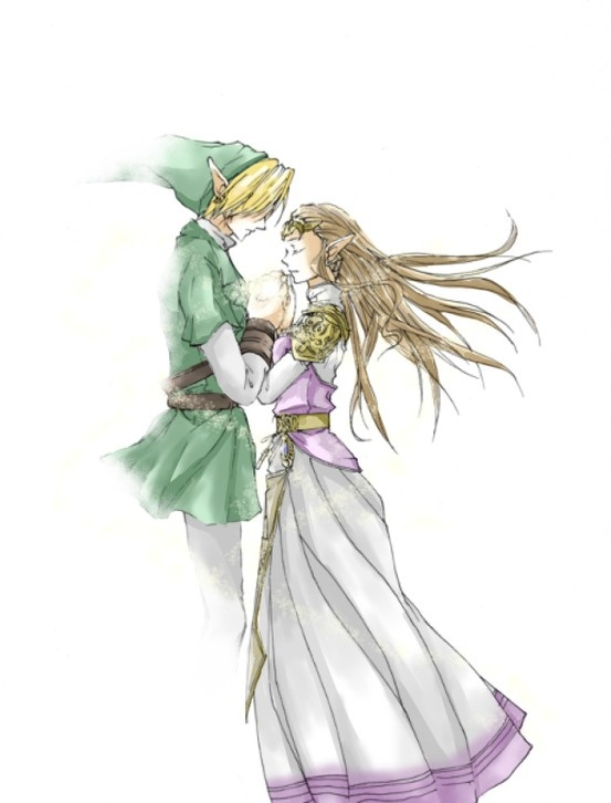 Ocarina of Time Link & Zelda 無題 by 南野泉