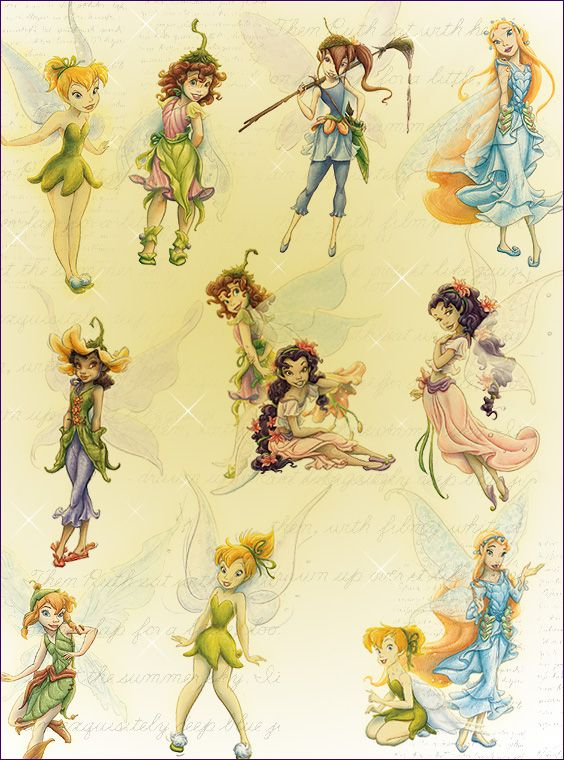 I loved the Disney Fairies, especially the books and I always loved Raini the most, except for Tink of course.