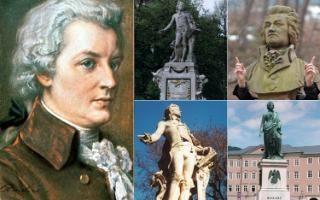 Austrian composer Wolfgang Amadeus Mozart