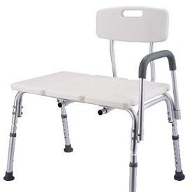 This transfer shower bench with ergonomic chair back and armrest makes it easier for the disabilities from wheelchair to take shower.This is shower chair is a perfect helper to offer safe and comfortable bathing and showering for the users, featuring 10 position, suitable for people of different height.Each leg comes with an attached anti-skid pads […]