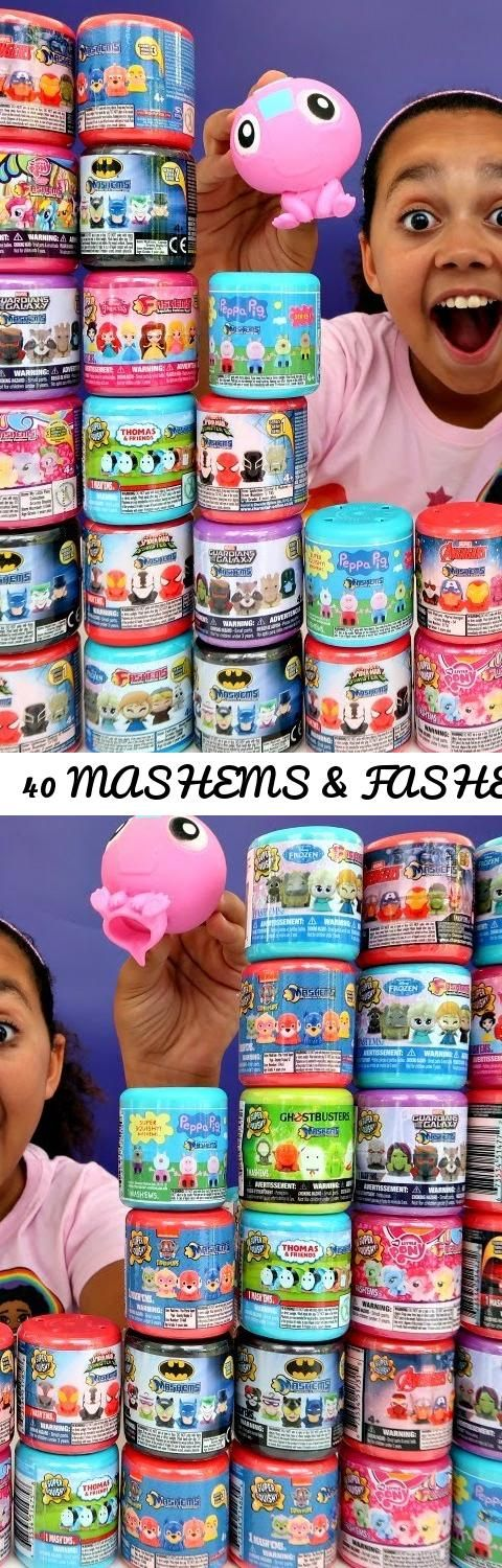 40 MASHEMS & FASHEMS OPENING!... Tags: toys and me, famtastic, disney toys, disney, lightning mcqueen, superhero, toys, toy, mlp, mashems, fashems, juguete, jouet, surprise, kids react, peppa pig, peppa pig videos, kids toys, toy videos, toys for kids, paw patrol, thomas and friends, family fun, spiderman, hulk, challenge videos, fun, comedy, kids, video for kids, slime, gross, funny videos, toy review, brinquedos, toy haul, surprise toys, toy opening, disney princess, compilation, frozen…