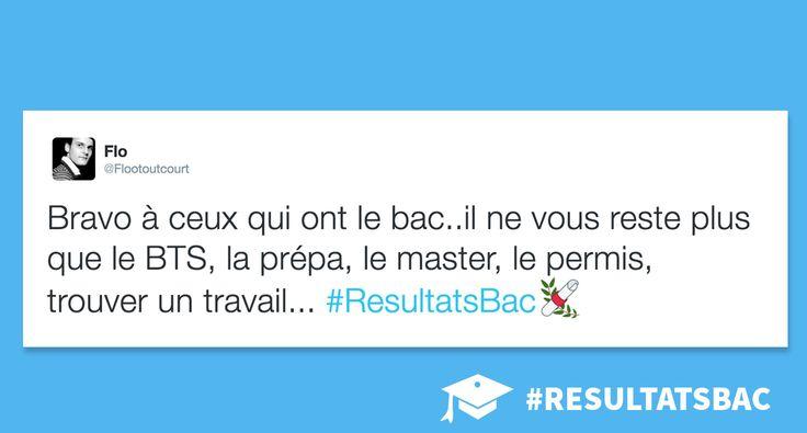 Quand Twitter réagit avec humour aux résultats du BAC 2016 #Inspiration