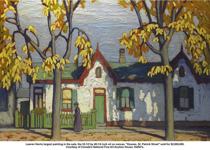 Canadian painter Lawren Harris