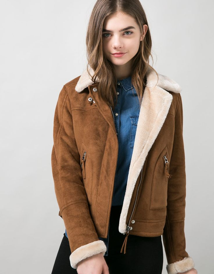 BSK double-sided jacket. Discover this and many more items in Bershka with new products every week