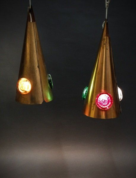 Two Pendant Lamps, Circle of Erik Hoglund : Lot 418
