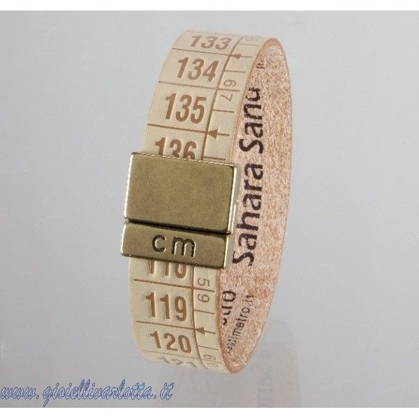 Bracciale Il centimetro natural chiaro Sahara Sands  http://www.gioiellivarlotta.it/product.php?id_product=1421