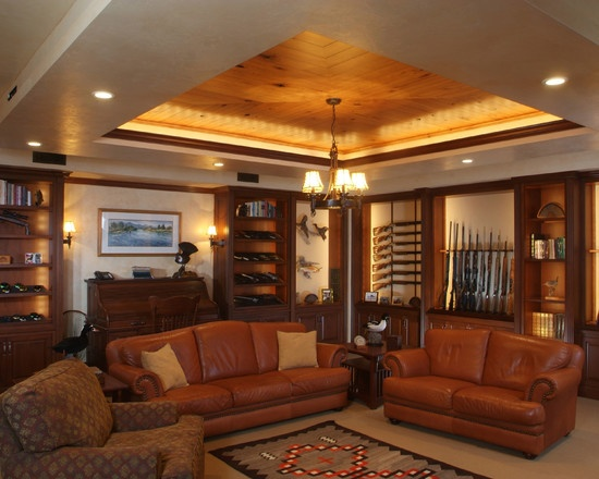 Here it is, one of the best Man Caves/ Gun rooms I have seen in awhile.