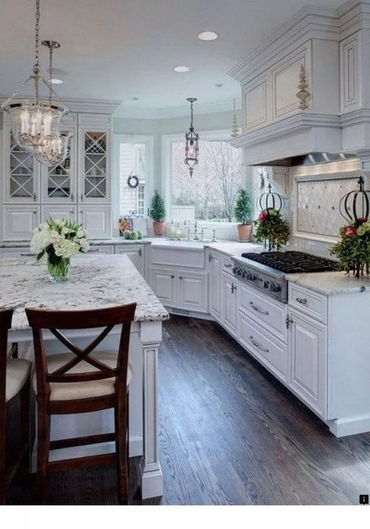 51 Best Kitchen Decoration Ideas For Rustic Farmhouse Style