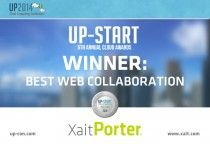 XaitPorter wins Best Web Collaboration Solution award at UP2014
