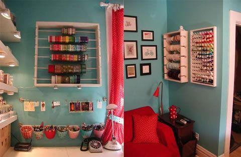 Ideas para organizar el taller en casa costura ideas - Como hacer bisuteria en casa ...