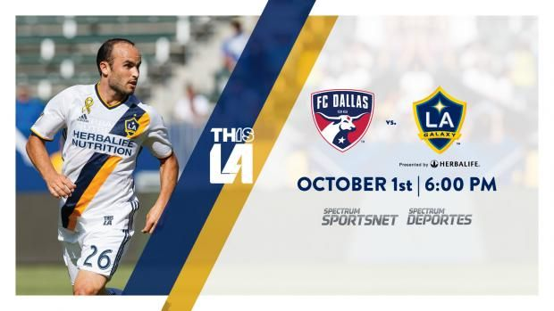 Match Preview presented by O4 Water: LA Galaxy look to bounce back Saturday on the road vs. FC Dallas