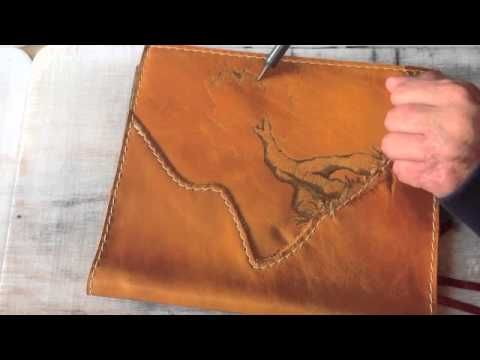 Leather Book Cover With Pyrography (Time Lapse Video): 6 Steps (with Pictures)